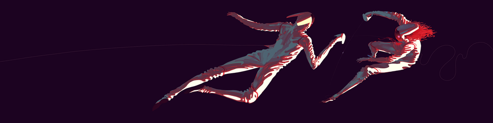 Future Fencers   Illustration for  Trevor Conrad