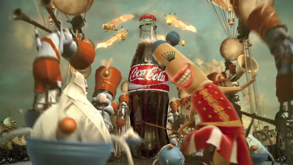 Coke - Happiness Factory   T.D. / T.A. / Animation