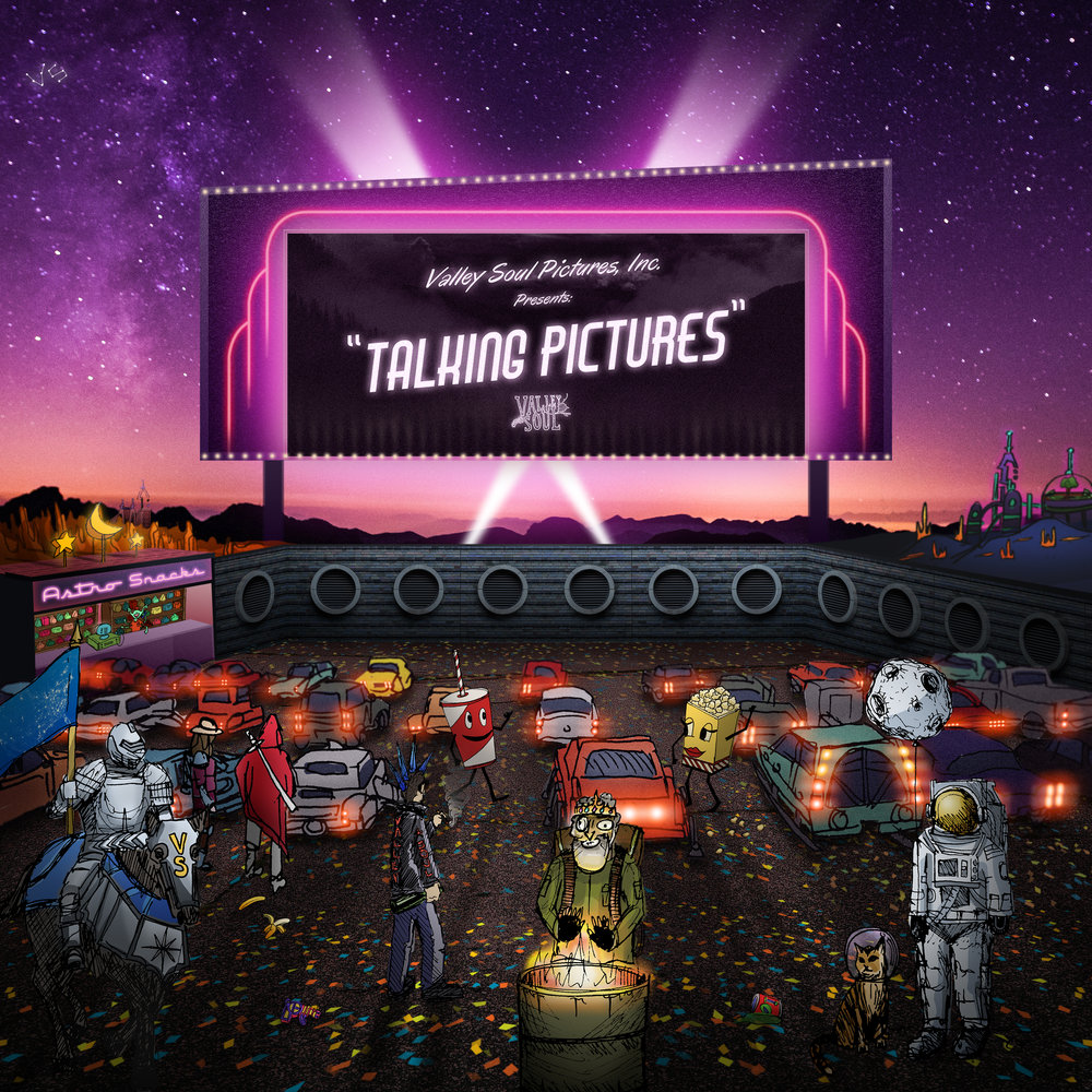 Talking Pictures is a nine-song full force exploration of the human experience. The album shares stories of love, struggle, realization and loneliness, and spans different aspects of modern life. Nostalgic, yet experimental instrumentation sets the background for genuine, candid lyrics and expansive, lush vocal harmonies.