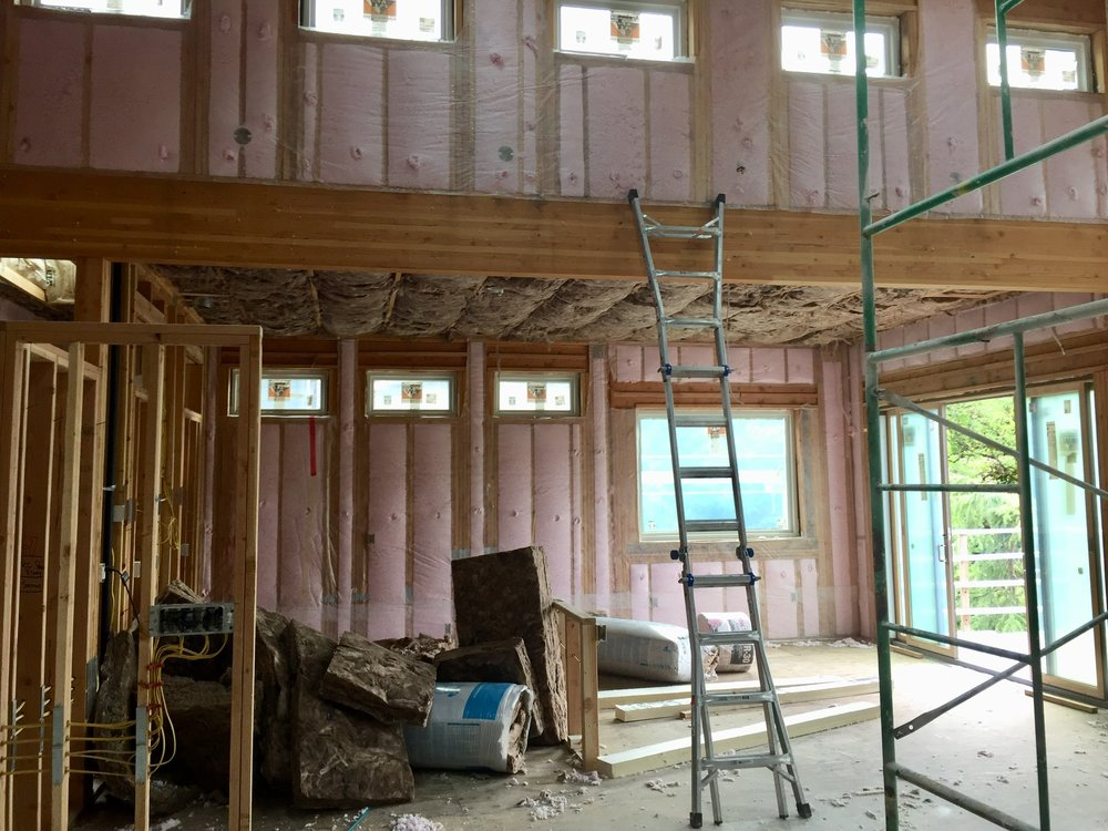 With blown-in insulation for maximum energy efficiency