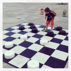 Checkers anyone?