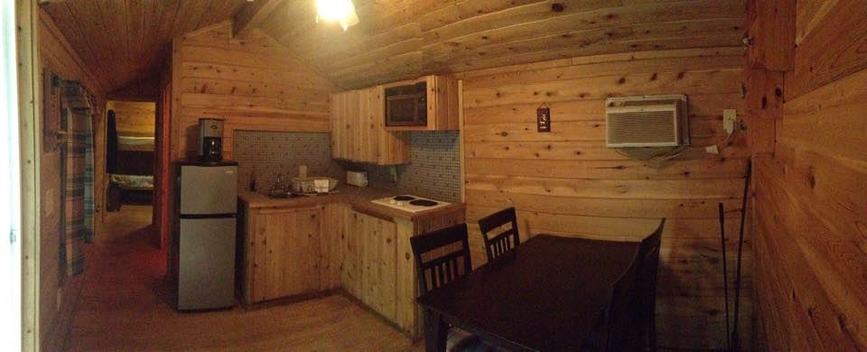 Cabin #6 Kitchen