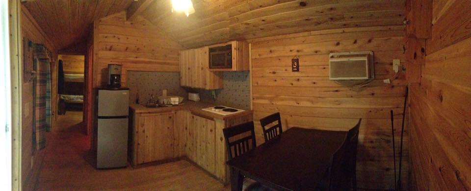 Cabin #6 Interior