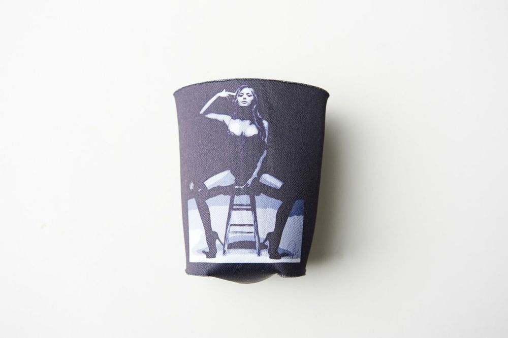 Not only is your limited-edition BRITTNEY PALMER 'SMOKIN GUN' KOOZIE a modern day artistic classic—it's also a magnetic conversation starter... Your distinctive koozie, draped in original artwork, shows that you are clearly a sophisticated, international man/woman of mystery and the most interesting person at the party (possibly even the world). ;-)