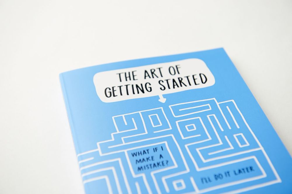 Artist and fellow Tumblrist Lee Crutchley knows all about that. So to kick off #ART02 I've included his interactive work book THE ART OF GETTING STARTED. His simple yet unique  approach to conquering your own self-doubt and  procrastination is a valuable tool that I hope you will enjoy just as much as I have.
