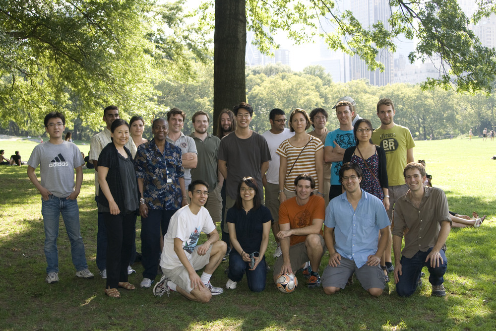 Lai lab Picnic, 2011. Central Park