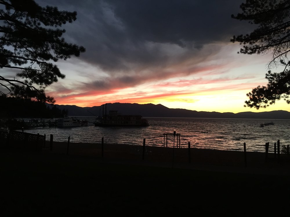 Lake Tahoe at Zephyr Cove