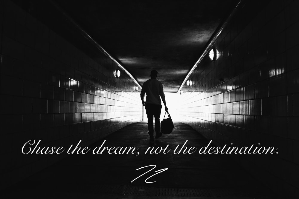 nicolascolechasethedreamnotthedestination