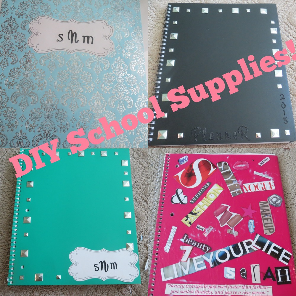 easy and inexpensive diy school supply decorating ideas 7bearsarah