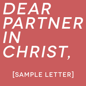 Sample letter A guide to writing a letter to invite partners to help send you to Kuala Lumpur. \\ You can copy and paste to make it your own!