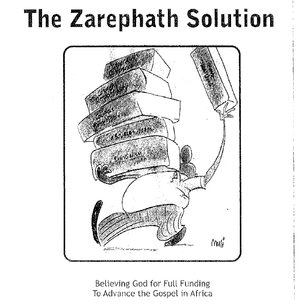 THE ZAREPHATH SOLUTION - Fundraising Bible Study developed by African Gospel Workers