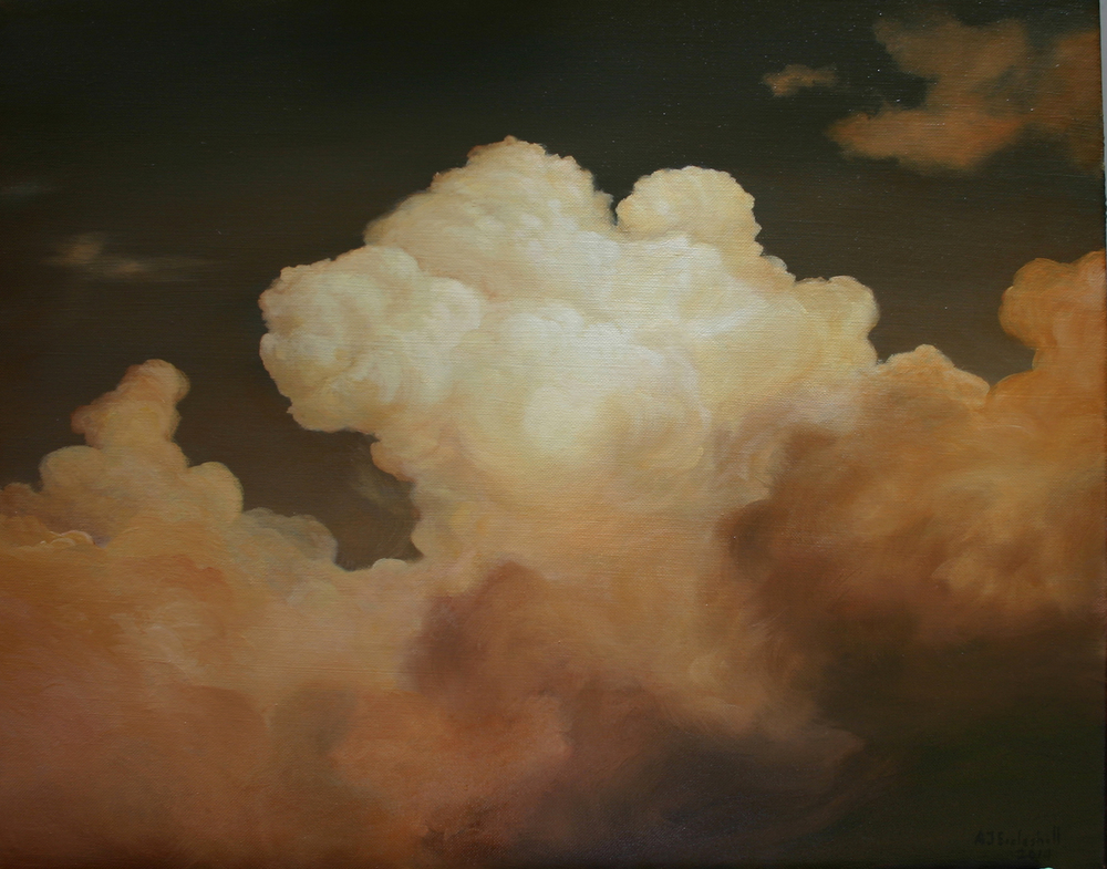 Copper Sky  20x24  oil