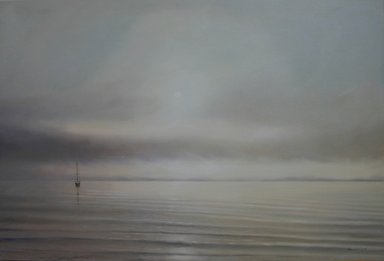 Morning Mist 24x36 oil