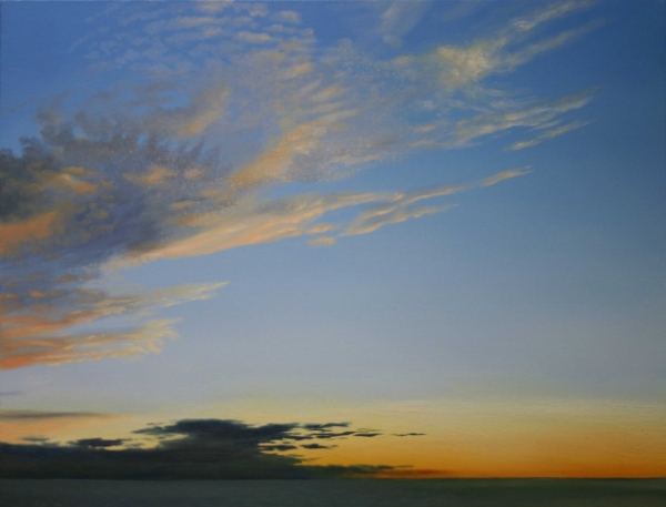 A Perfect Edmonds Evening 24x30 Oil