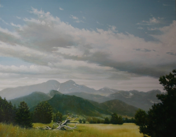 East of Estes 24x30 Oil