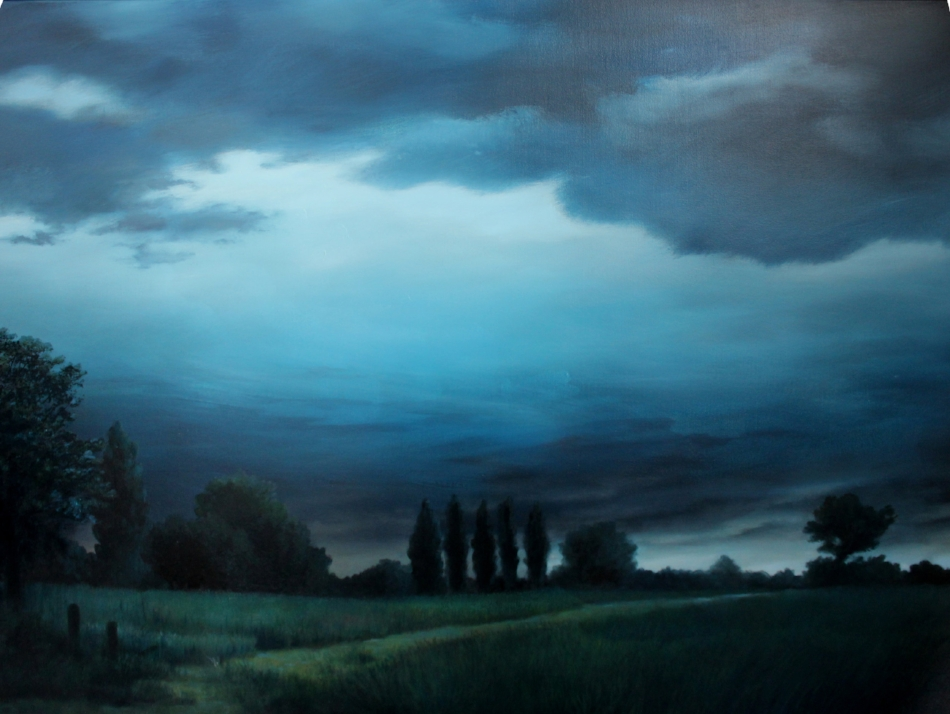 """Fading Light"" 36x48 oil"