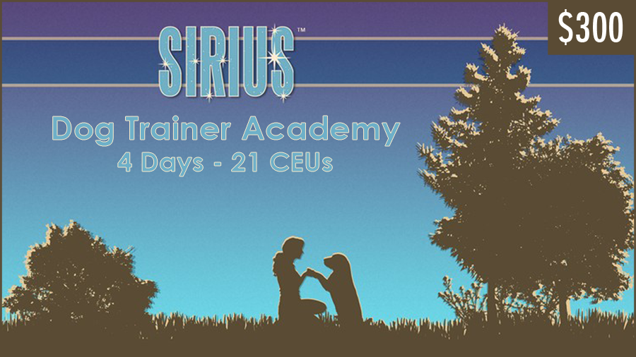 Dr. Ian Dunbar's SIRIUS® Dog Trainer Academy Online Course