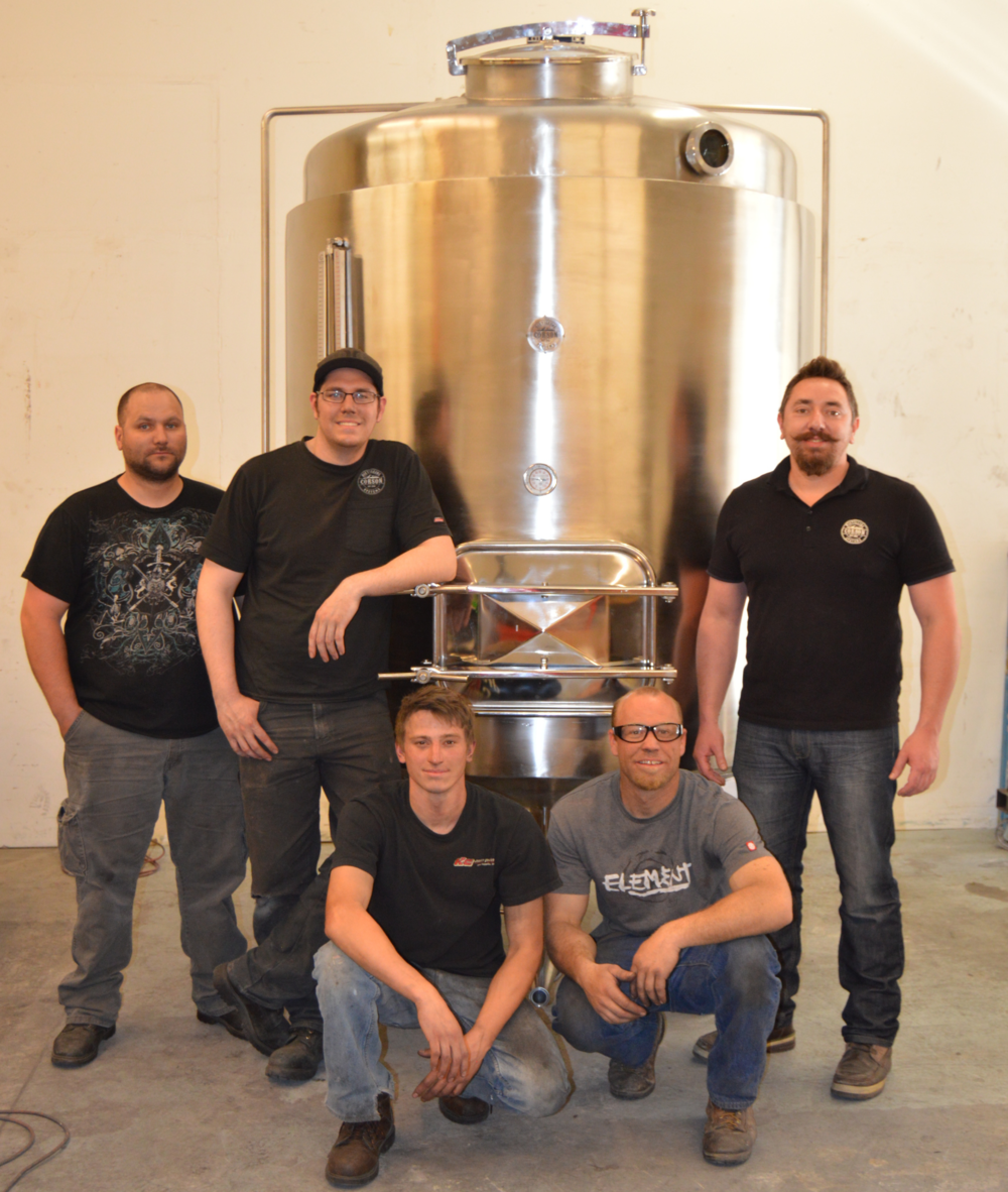 Corson Distilling Crew