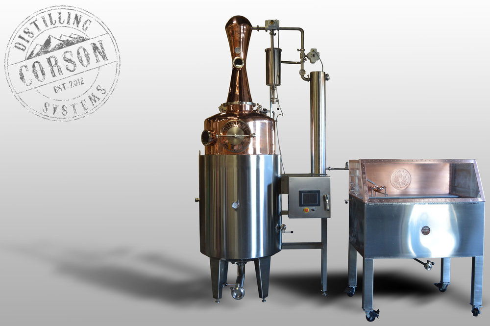 200 gallon automated gin still (Canada)