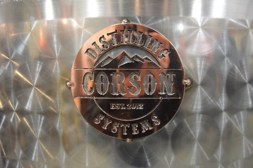 corson distilling commercial distillery equipment