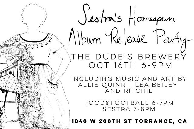We've had so much help and support along the way to make this full length album...and so we're throwing a party to celebrate with our favorite people. If ya haven't heard yet...it's THIS SUNDAY at @thedudesbrew in Torrance. We're bringing our freshly printed CDs, food, and our favorite South Bay Artists. But we're most excited to see YOU. Much love.