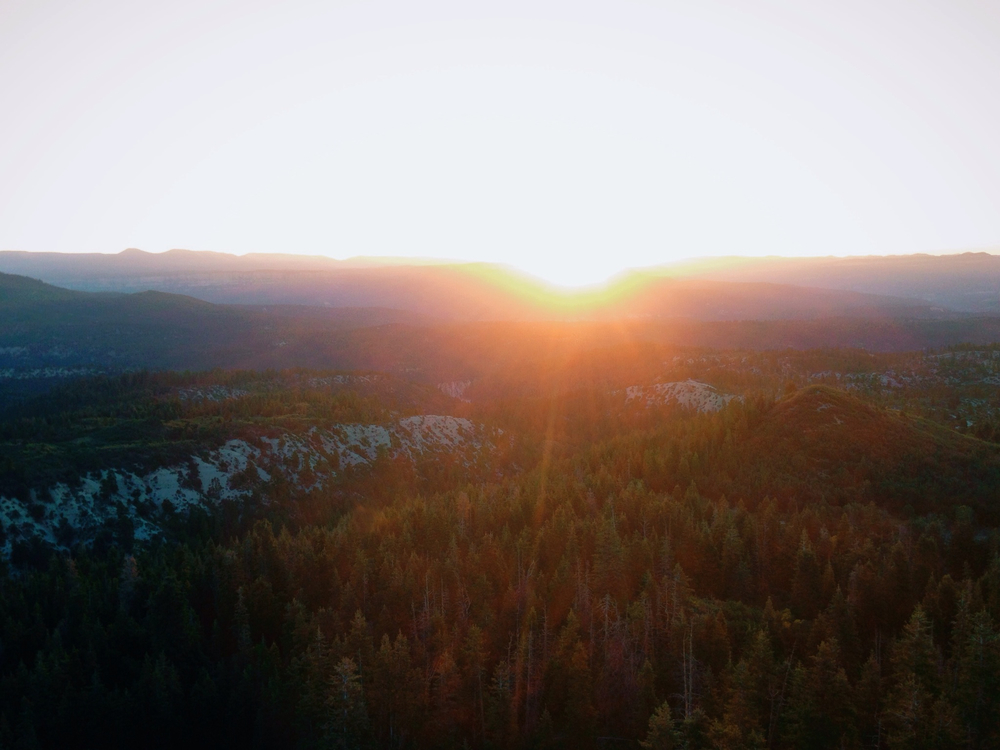 Sunrise over Zion8/24/2014