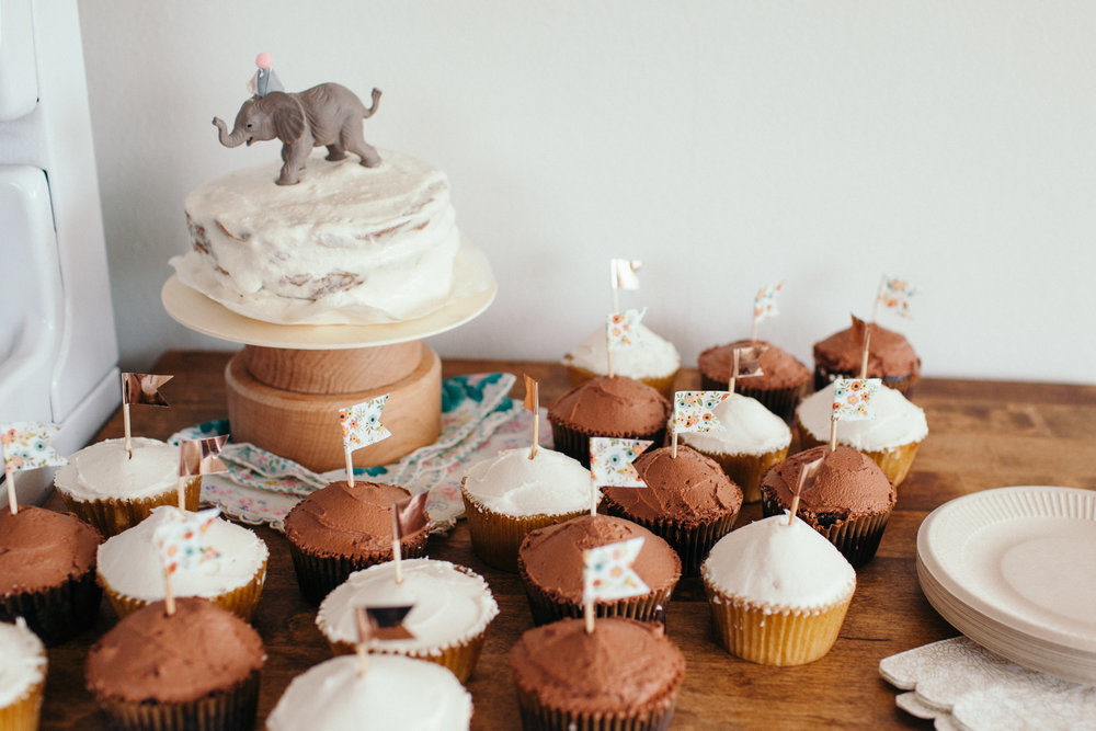 Simple Floral First Birthday Party - We Wild Beasts