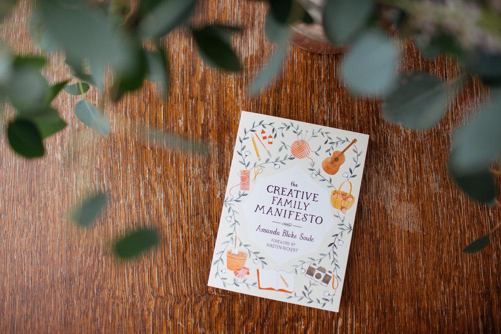 Creative Family Manifesto by Amanda Blake Soule