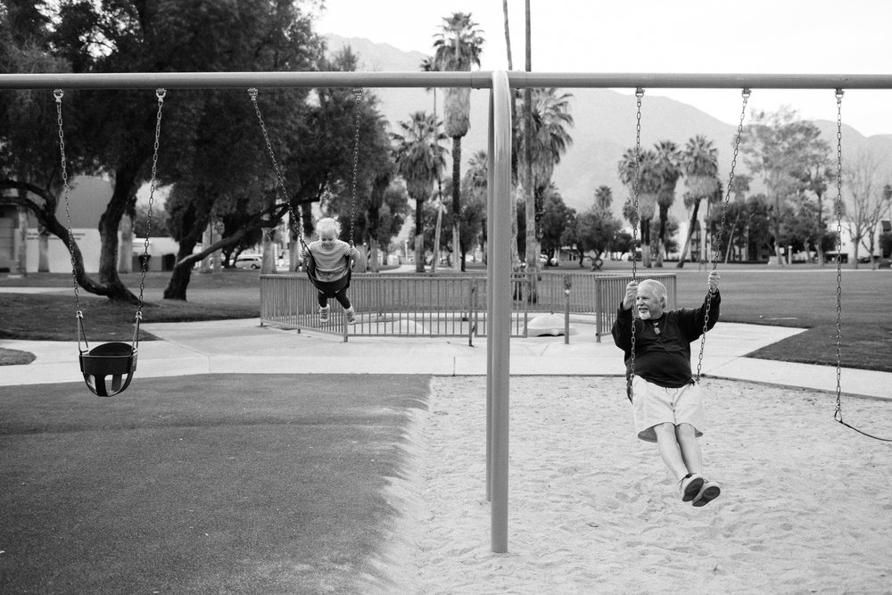 Swings with Poppy