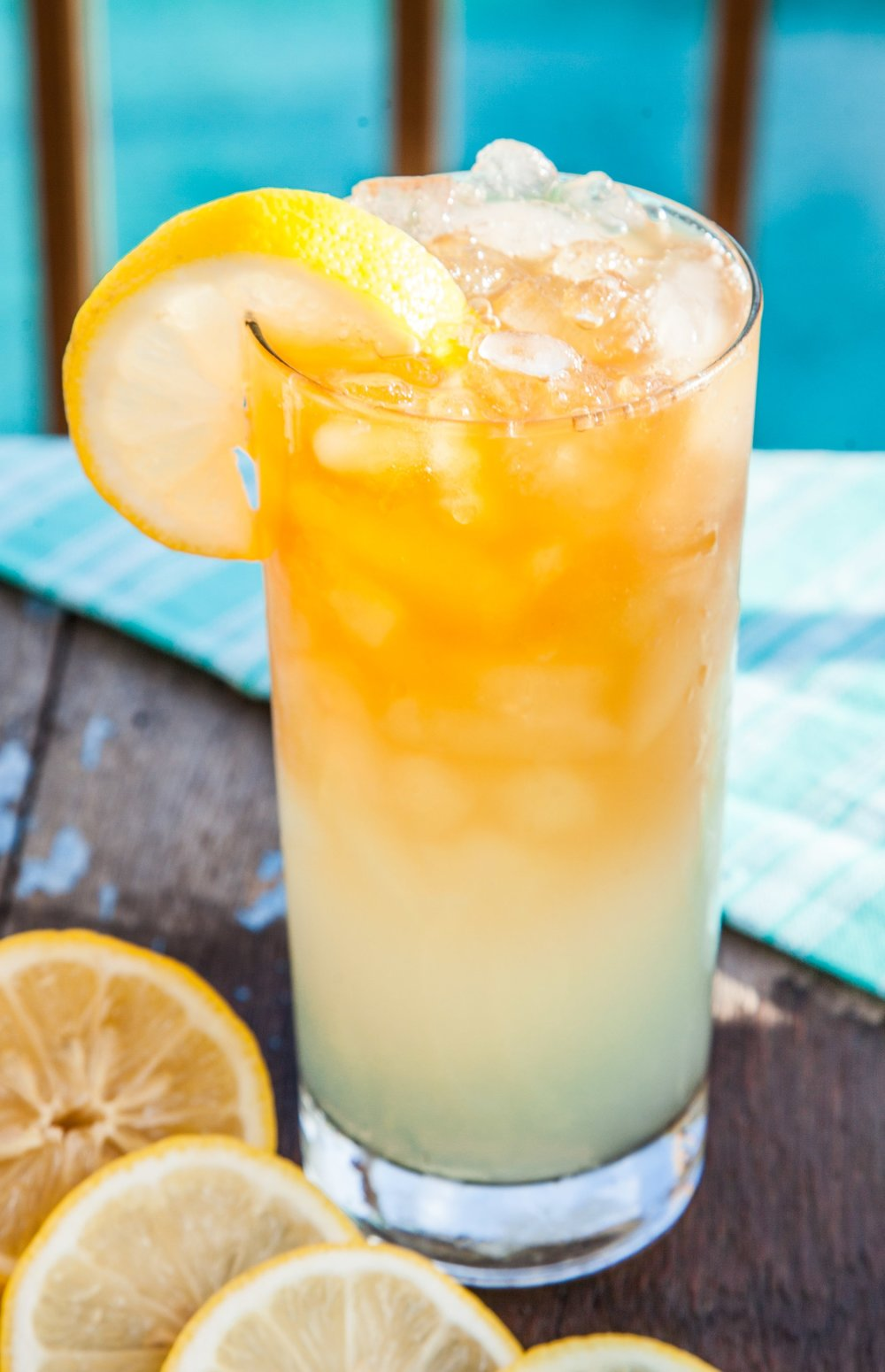 Fresh Half & HalfArnold Palmer - Half fresh brewed iced tea , half fresh squeezed lemonade. It's the perfect combination. If you like it out of a can, you'll love it fresh. Add any flavor to make it even more delicious.Most popular: Mango Arnold Palmer