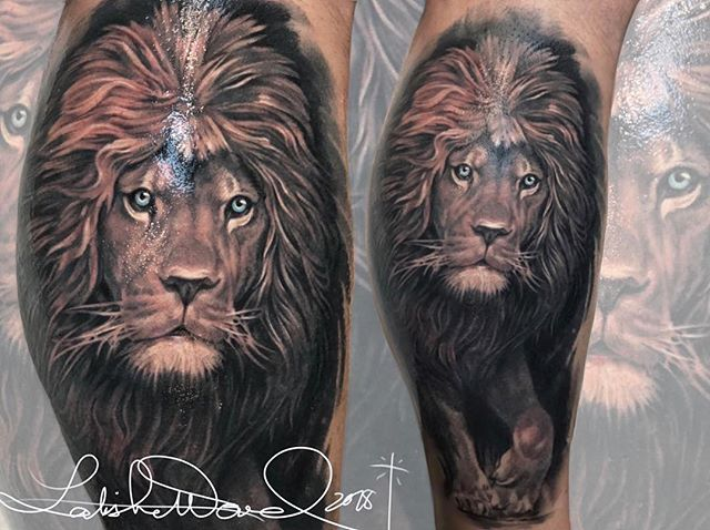 """The wicked flee though no one pursues, but the righteous are as bold as a lion."" ‭‭Proverbs‬ ‭28:1‬ ‭NIV‬‬ #InkMinistry by @latishawood ✨  LatishaWood.Booking@gmail.com #BishopRotary #Inkeeze #NocturnalInkTattoo #VaticanStudiosOC #LatishaWood ❤️⚔️❤️ SPECIAL OPPORTUNITY: Receive 1 hour free towards any lion piece by Latisha. For more info about this deal, please email  LatishaWood.Booking@gmail.com"