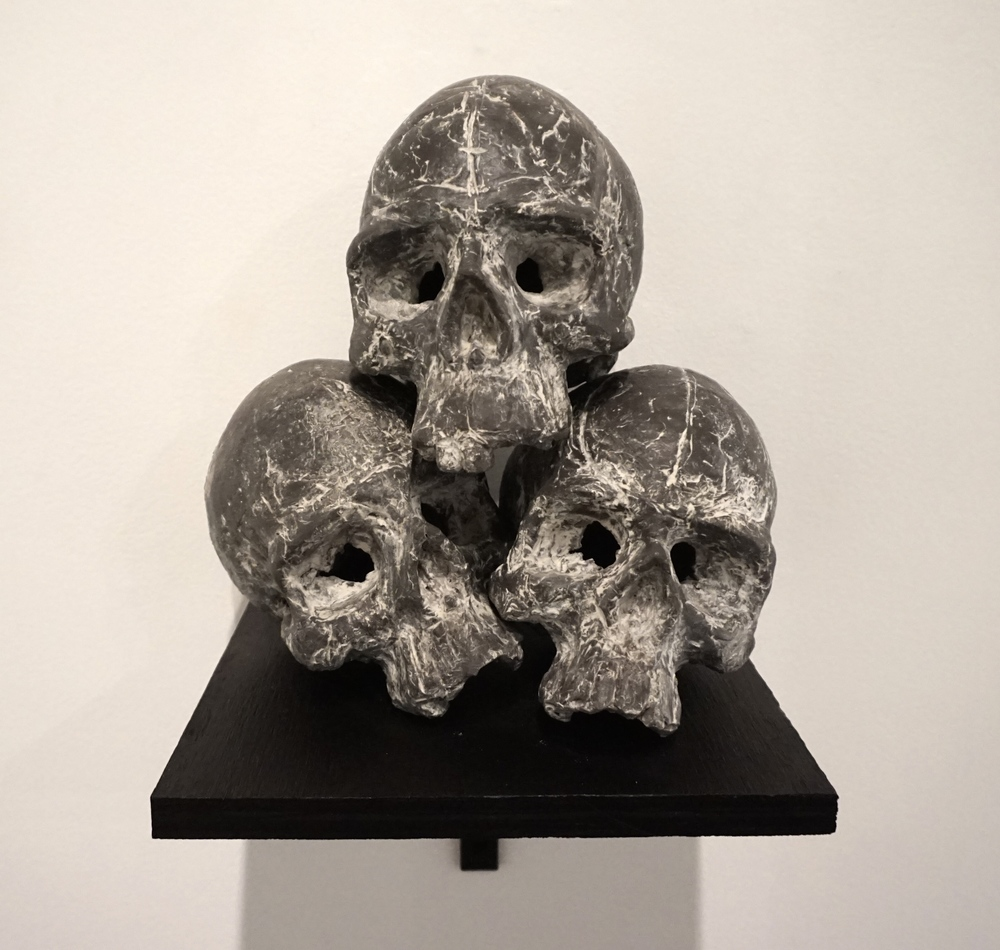 Stack of Skulls (After Cezanne)