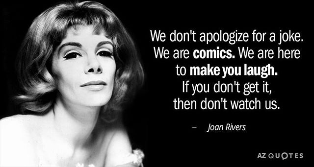This one is circulating everywhere today. Boy was Joan ahead of her time. We need voices like hers now more than ever.