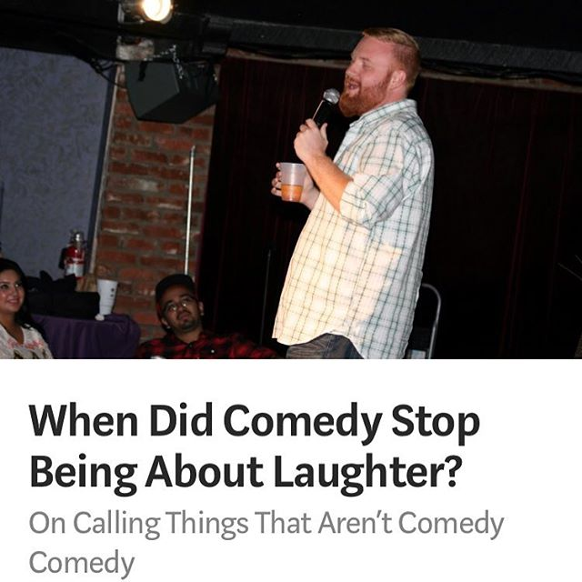 I wrote an article today on the current state of comedy for @vandalpress on @medium. Let me know your thoughts! #comedy #standup #article #writing #freespeech #funny #humor