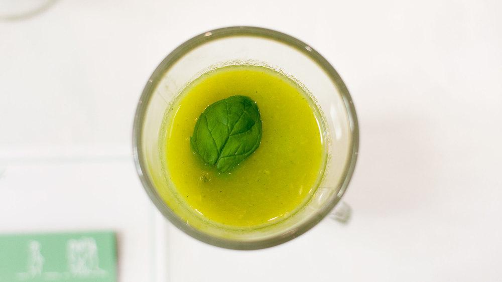 i przedewszystkim smaczne zielone koktajle