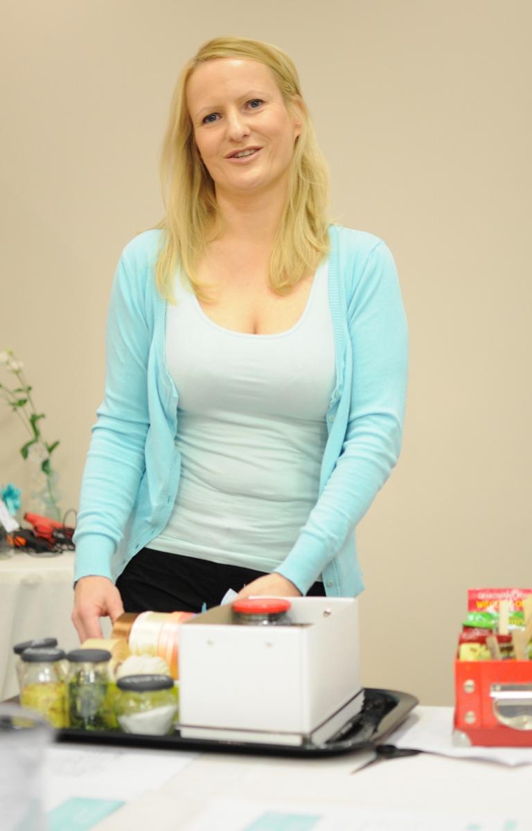 Laura opowiadała o ciekawych sposobach utrzymania porządku w naszych szufladach