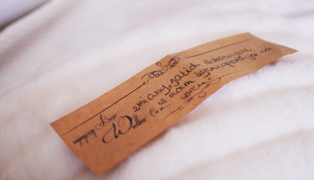 najwyższy Boże, wielbię Cię za...  każdy z nas na takiej karteczce mógł napisać czym Bóg szczególnie dotyka jego serce.
