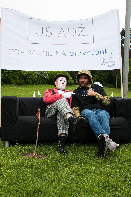 niedziela 11:00  zabawa! strefa przystanku niebo w sercu miasta - piknik w parku kasprowicza.