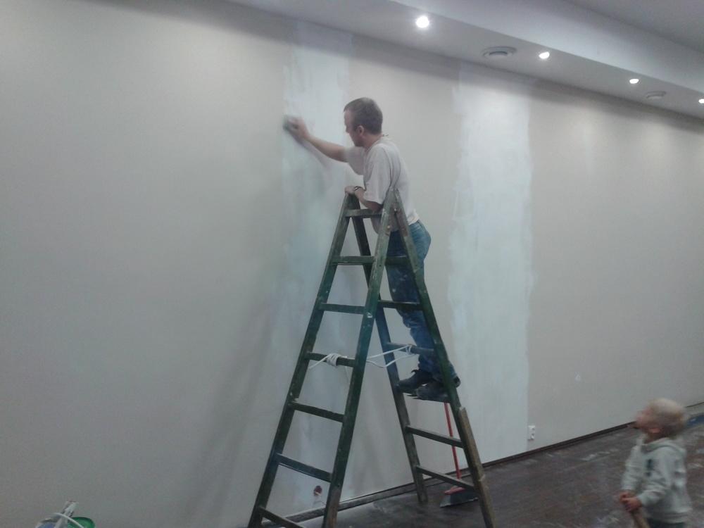 ostatnie poprawki przed malowaniem