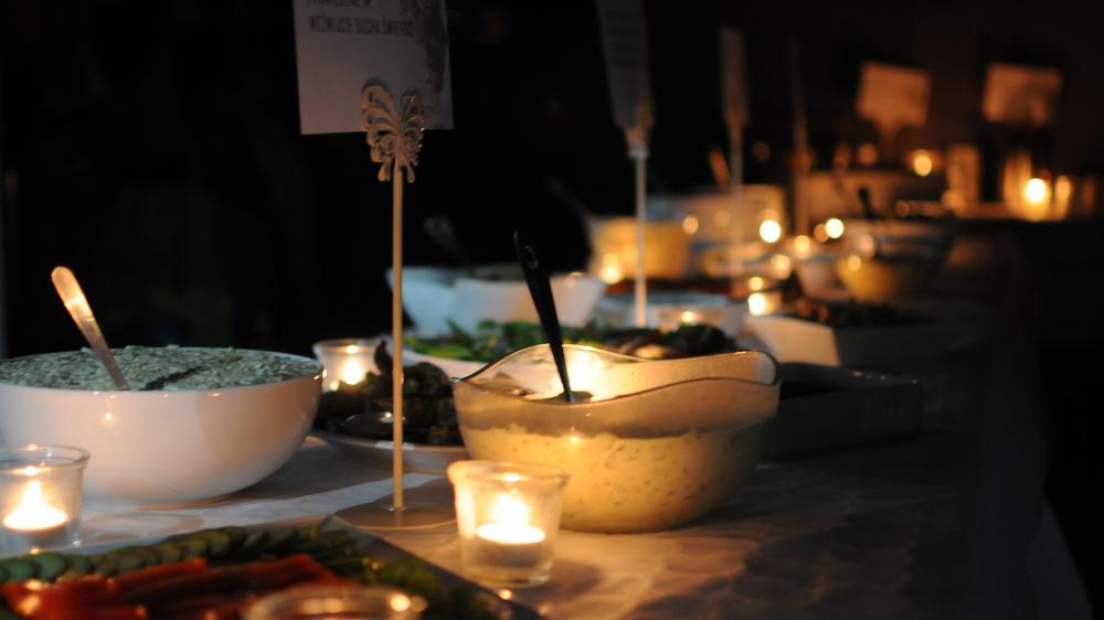 cierpieliśmy chwilowo na brak prądu, ale czy to jakiś problem! świeczki załatwiły sprawę a dodatkowo wyglądały pięknie.