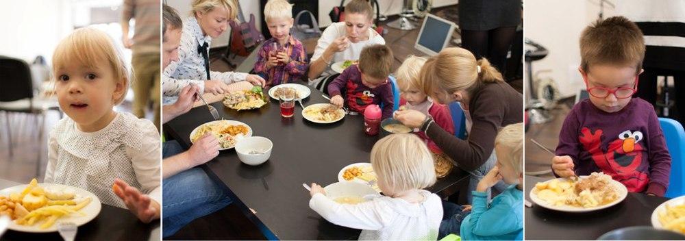 dzieci mają pierwszeństwo, a ponieważ była fasolka szparagowa i po bretońsku, tym razem zajadali się naprawdę wszyscy!