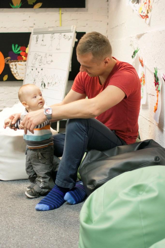 do okruszków dołączył mieszko, dzieci bardzo się cieszyły z nowego kolegi :)tak bardzo, że nie chciały się skupić :)