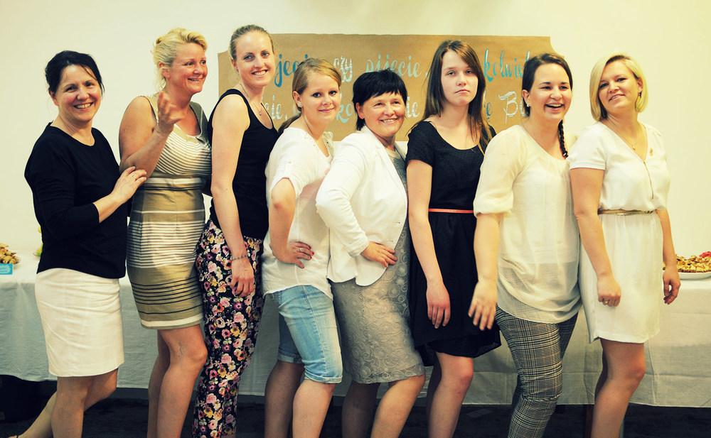 nasze kochane kobietki, dzięki którym stoły zawsze wyglądają pięknie i posiłki są wspaniale zorganizowane :)