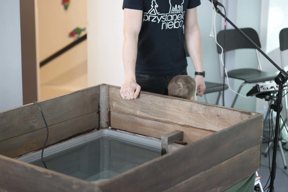 baptysterium gotowe