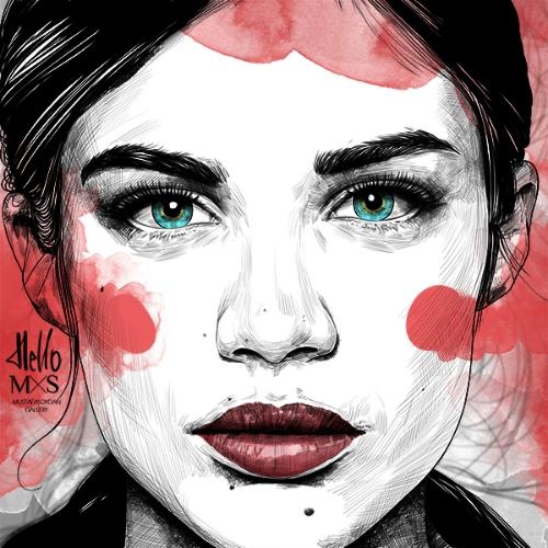 Fashion Illustration by Mustafa Soydan