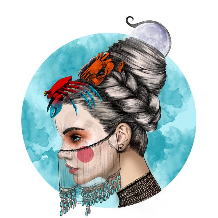 Horoscope Series by Mustafa Soydan