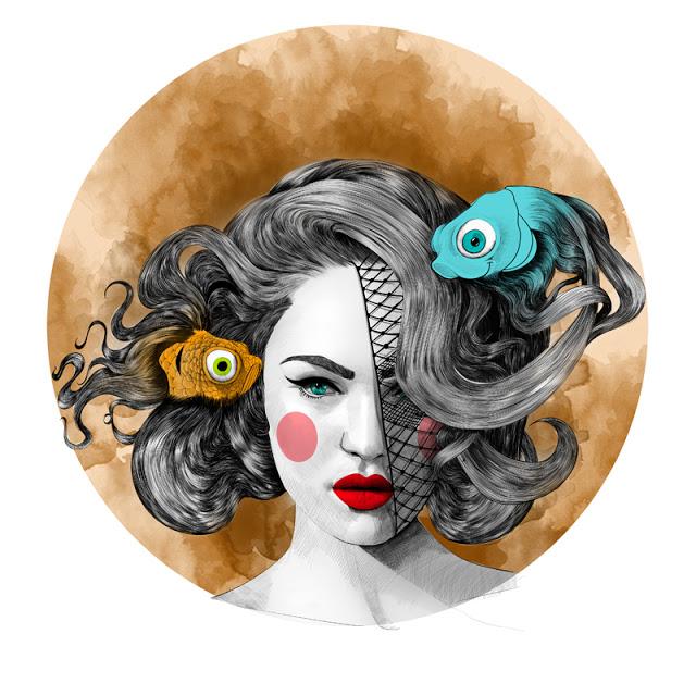 Fashion Illustration Image by Mustafa Soydan