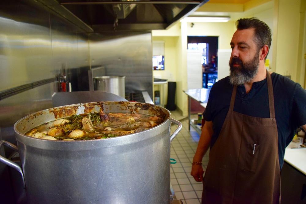 Chef Ricardo Díaz