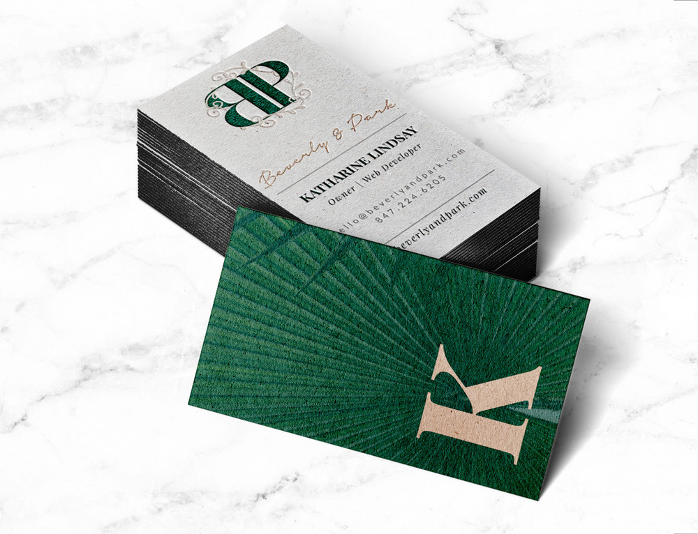 Business Card Design: Beverly & Park