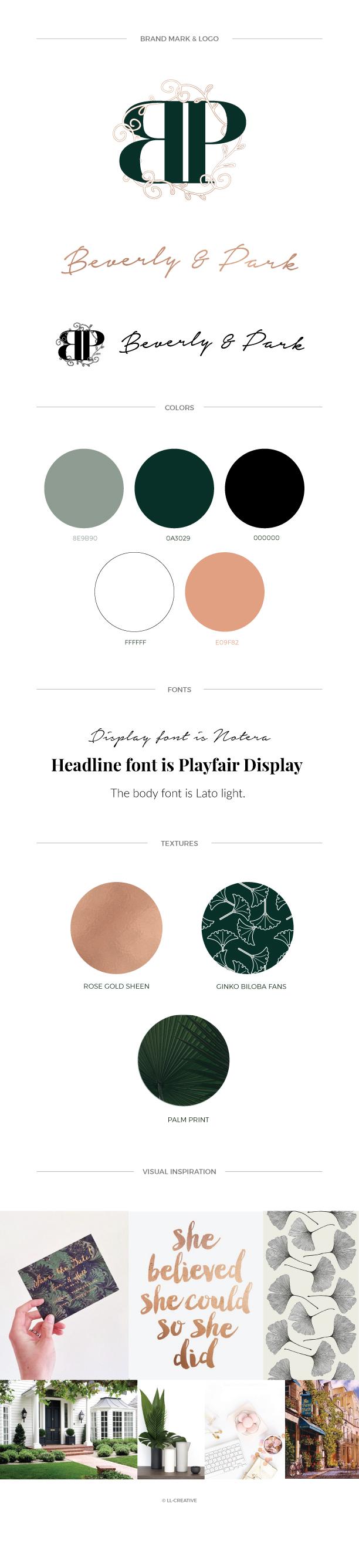 Brand Design: Beverly & Park